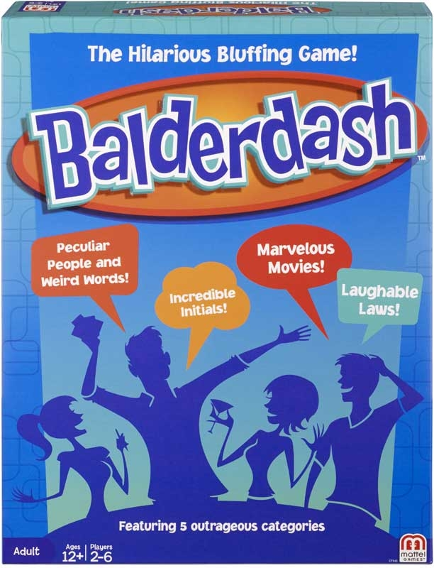 Wholesalers of Balderdash toys