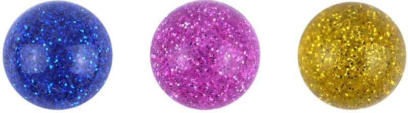 Wholesalers of Ball Jet 3.3cm Glitter Colours toys