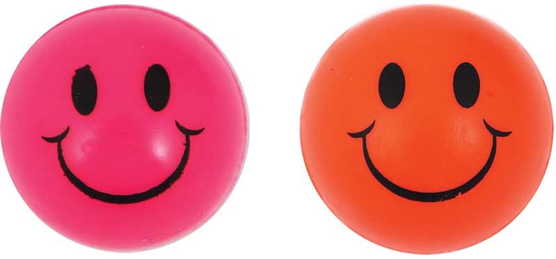 Wholesalers of Ball Jet 3.3cm Smile Neon Cols toys