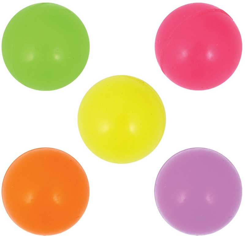 Wholesalers of Ball Jet 3cm Glow In The Dark 5 Asst toys