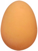 Wholesalers of Ball Jet 5.4cm Egg Shape Brown toys image