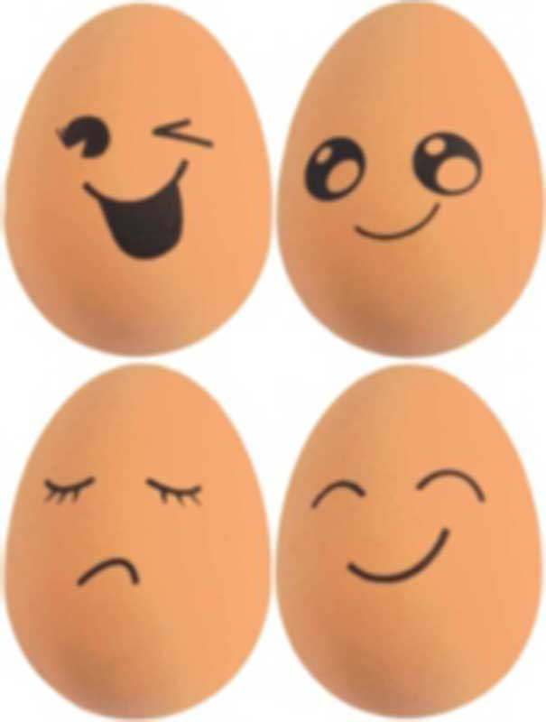 Wholesalers of Ball Jet 5.4cm Egg Shape Brown With Face toys