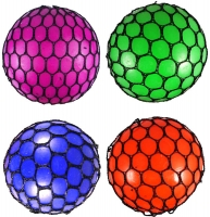 Wholesalers of Ball Mesh Squeeze 7.5cm 4 Asst Cols toys image 2