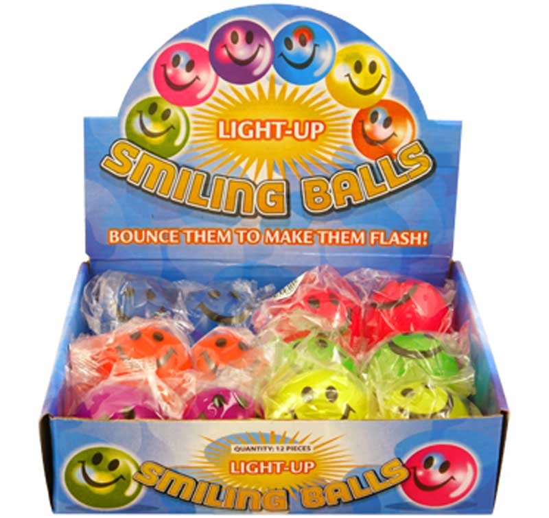 Wholesalers of Ball Smile With Light 5cm toys