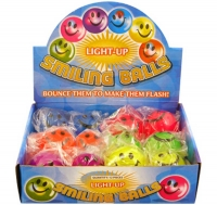 Wholesalers of Ball Smile With Light 5cm toys image 2
