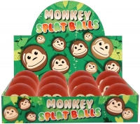 Wholesalers of Ball Splat Monkey 6cm toys image