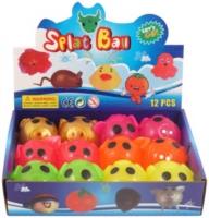 Wholesalers of Ball Splat Sticky Pig 7cm 6 Asst Cols toys image 2