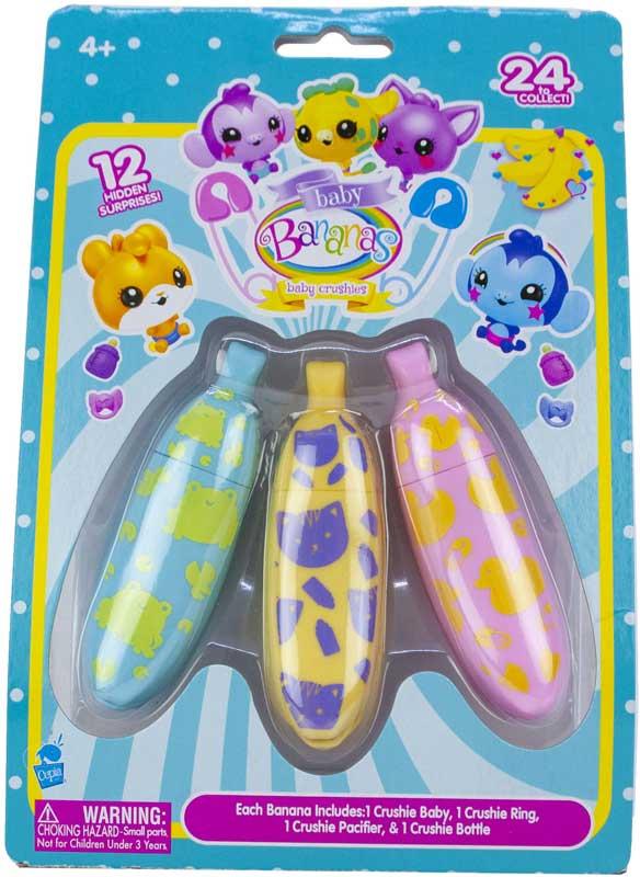 Wholesalers of Bananas Babies 3 Pk toys