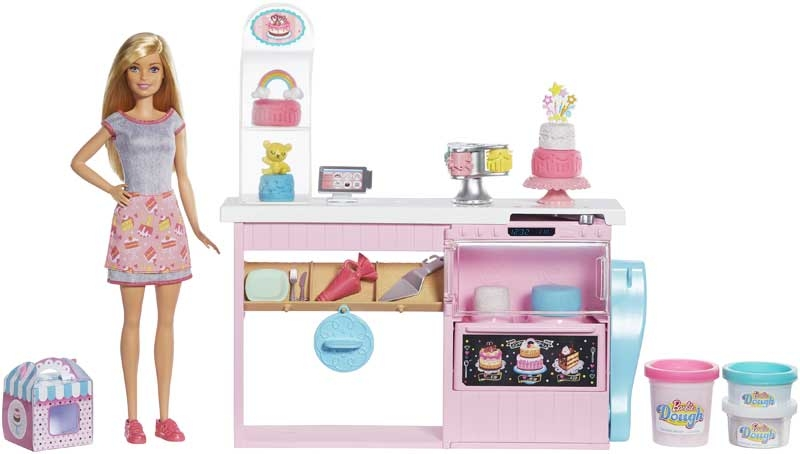 Wholesalers of Barbie  Cake Bakery Playset With Baker Doll toys
