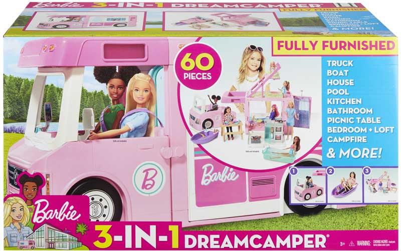 Wholesalers of Barbie 3 In 1 Dreamcamper toys