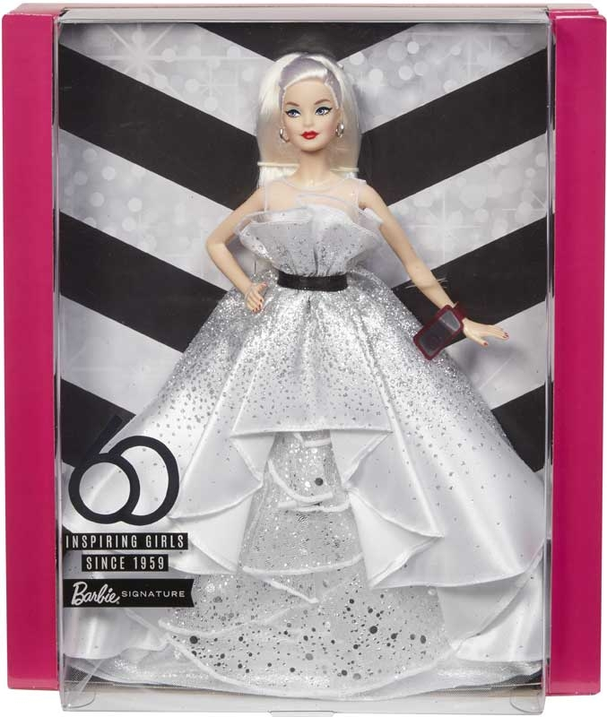 Wholesalers of Barbie 60th Celebration Doll Gold Label toys