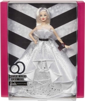 Wholesalers of Barbie 60th Celebration Doll Gold Label toys image