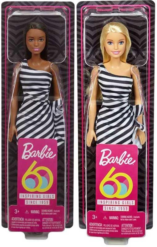 Wholesalers of Barbie 60th Glitz Doll Asst toys