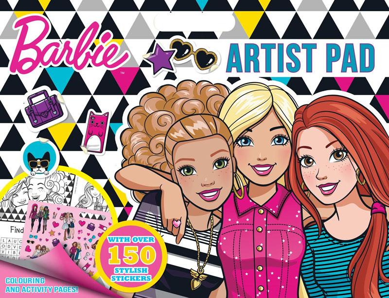 Wholesalers of Barbie Artist Pad toys