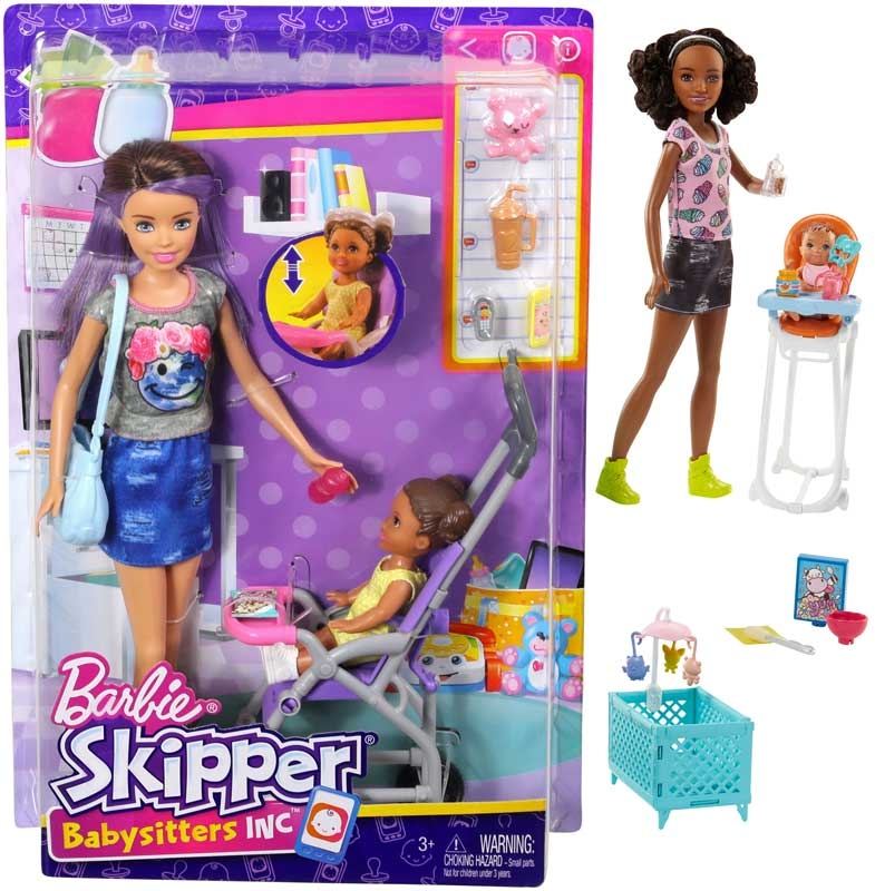 Wholesalers of Barbie Babysitter Assortment toys