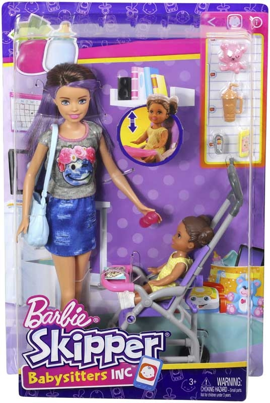 Wholesalers of Barbie Babysitter Skipper - Pram toys