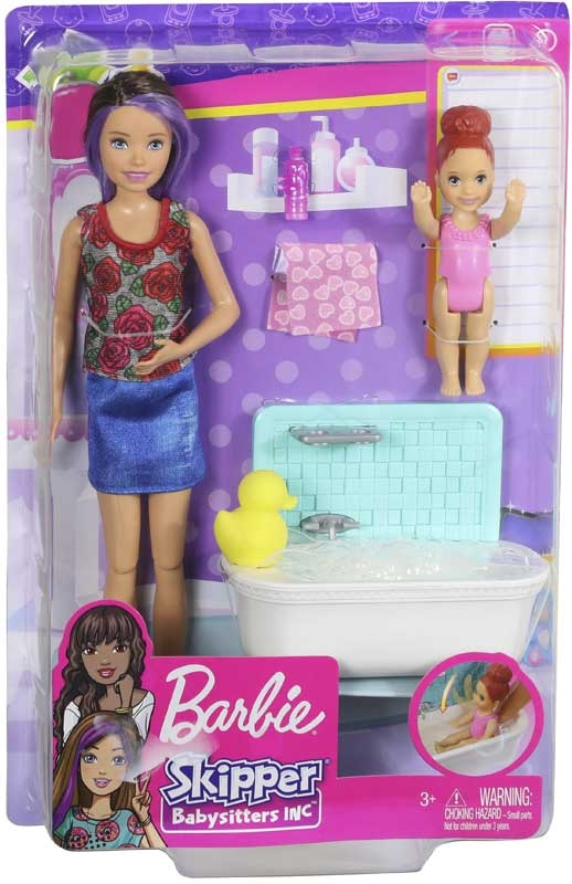 Wholesalers of Barbie Babysitter Skipper- Bath Time Fun toys