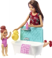 Wholesalers of Barbie Babysitter Skipper- Bath Time Fun toys image 2