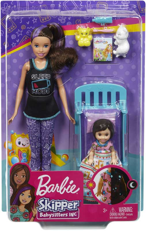 Wholesalers of Barbie Babystitter Bedtime toys