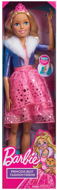 Wholesalers of Barbie Best Fashion Friend Princess Adventure 28 Inch Doll - toys