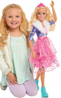 Wholesalers of Barbie Best Fashion Friend Princess Adventure 28 Inch Doll - toys image 4