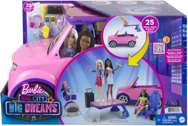 Wholesalers of Barbie Big City Big Dreams And Vehicle toys