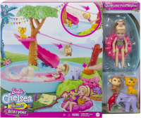 Wholesalers of Barbie Birthday Surprise Chelsea Jungle River Play Set toys image