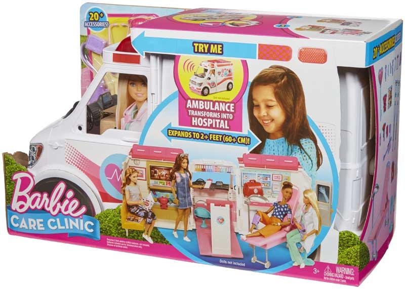 Wholesalers of Barbie Care Clinic Vehicle toys
