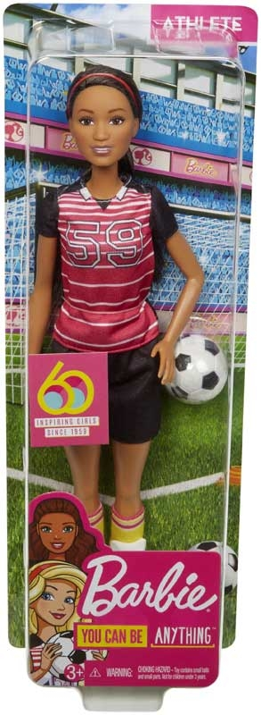 Wholesalers of Barbie Career 60th Doll Athelete toys