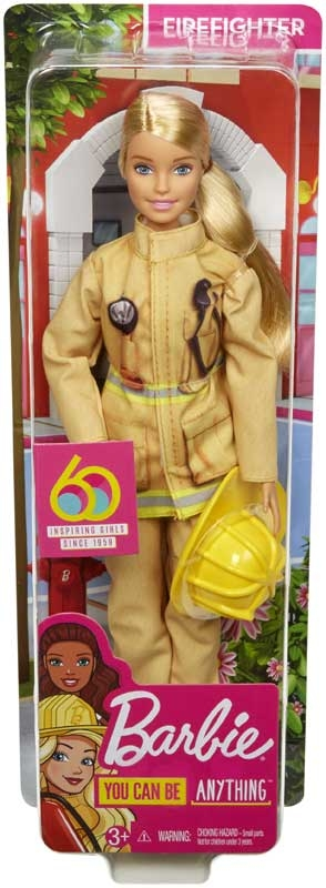 Wholesalers of Barbie Career 60th Doll Firefighter toys