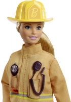 Wholesalers of Barbie Career 60th Doll Firefighter toys image 3