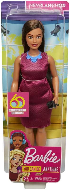 Wholesalers of Barbie Career 60th Doll Journalist toys