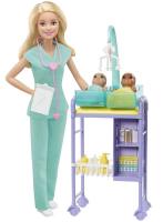 Wholesalers of Barbie Career Doctor Play Set toys image 2