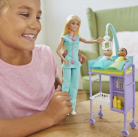 Wholesalers of Barbie Career Doctor Play Set toys image 3