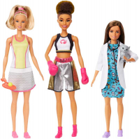 Wholesalers of Barbie Career Dolls Asst toys image 3