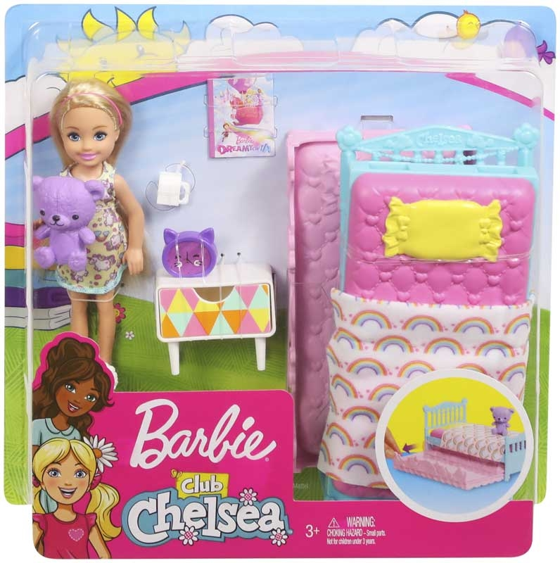 Wholesalers of Barbie Chelsea Bed Time Accy toys