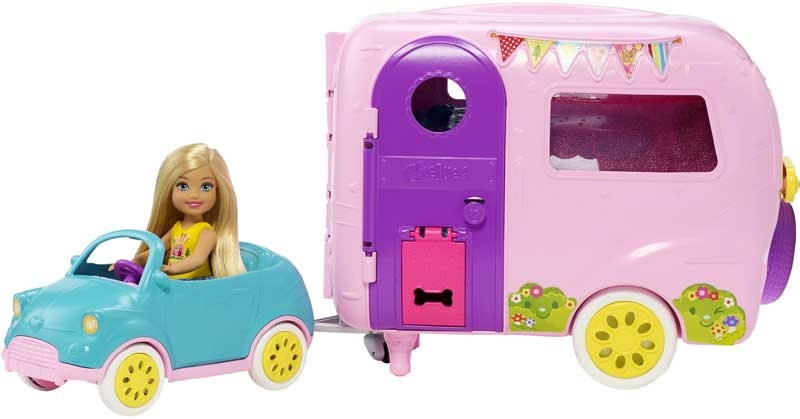 Wholesalers of Barbie Chelsea Camper With Doll And Car toys