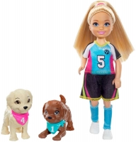 Wholesalers of Barbie Chelsea Football Playset toys image 2