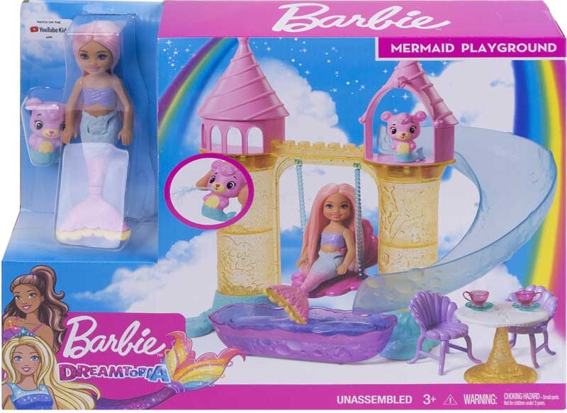 Wholesalers of Barbie Chelsea Mermaid Playset toys
