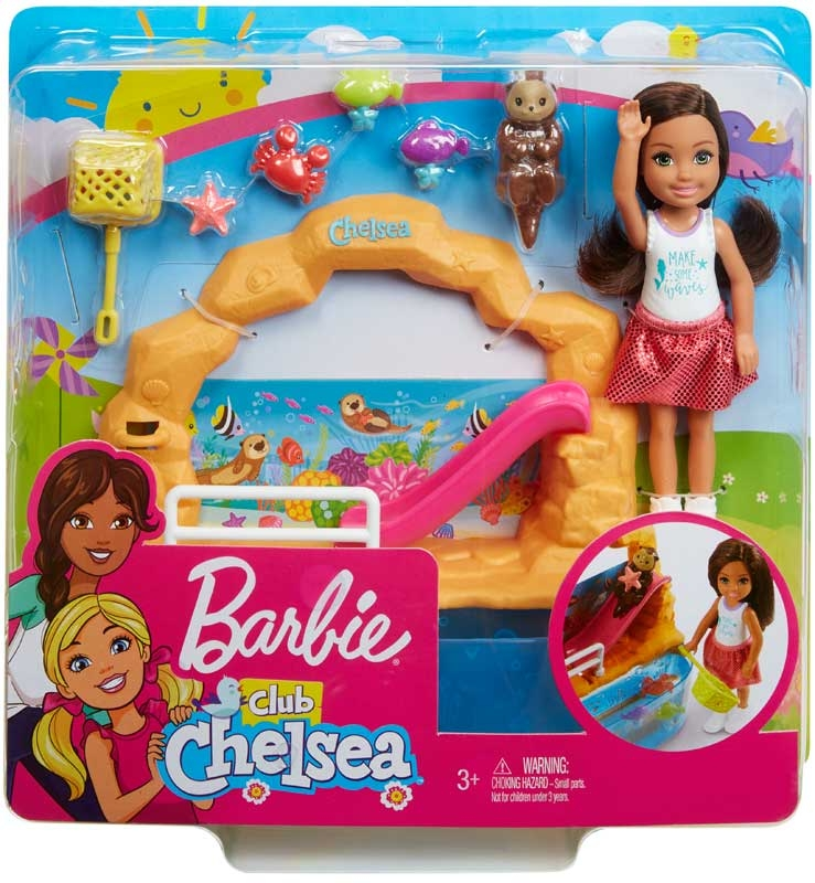 Wholesalers of Barbie Club Chelsea Doll And Aquarium Playset toys