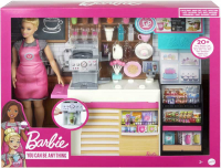 Wholesalers of Barbie Coffee Shop With Doll toys image