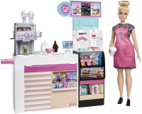 Wholesalers of Barbie Coffee Shop With Doll toys image 2