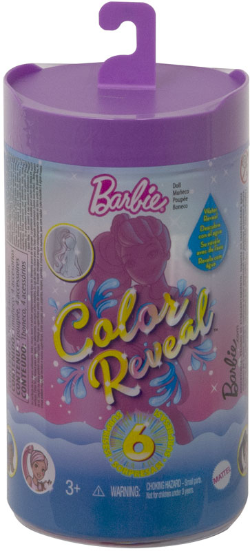 Wholesalers of Barbie Colour Reveal Chelsea Shimmer Asst toys
