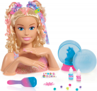 Wholesalers of Barbie Deluxe Blonde Tie Dye Styling Head toys image 2