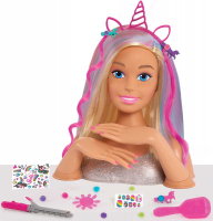 Wholesalers of Barbie Deluxe Styling Head Glitter - Blonde toys image
