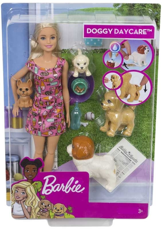 Wholesalers of Barbie Doggy Daycare Potty Trainer Playset toys