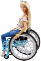 Wholesalers of Barbie Doll And Wheelchair Blonde toys image 2