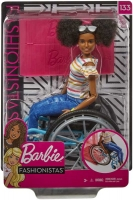 Wholesalers of Barbie Doll And Wheelchair Brunette toys image