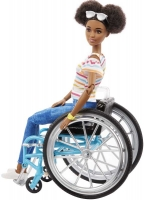 Wholesalers of Barbie Doll And Wheelchair Brunette toys image 2