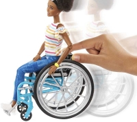 Wholesalers of Barbie Doll And Wheelchair Brunette toys image 3